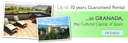 Granada - Up to 10 years Guaranteed Rental in the Culture Capitals of Spain!